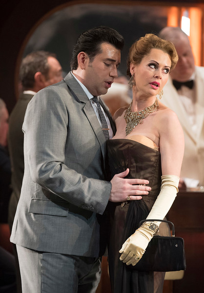 'Rigoletto' Opera directed by Jonathan Miller performed by English National Opera at the London Coliseum, UK
