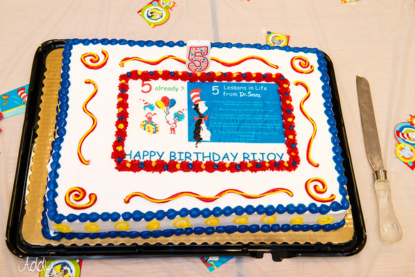 Rijoy's 5th Birthday