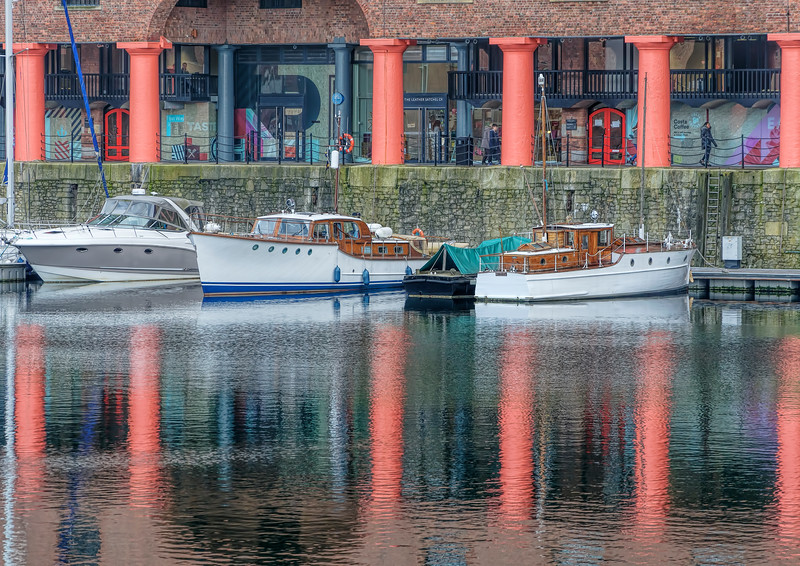 Reflections Albert Dock
