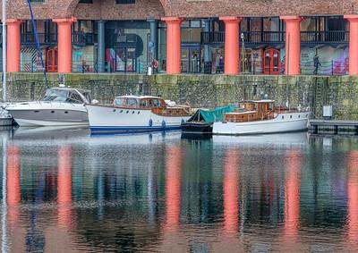 Reflections Albert Dock