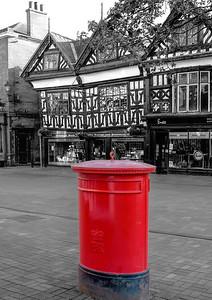 Nantwich Postbox