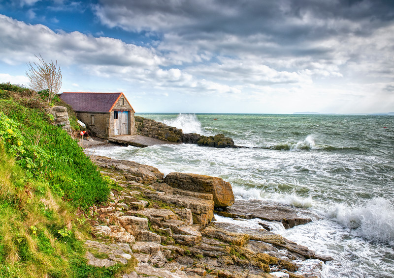 The Old Lifeboat Station Moelfre