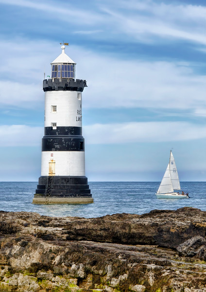 Sailing By Penmon Lighthouse