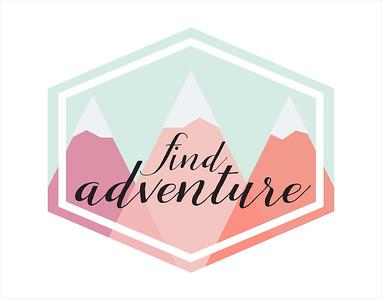 AdventurePinkMountains11x14