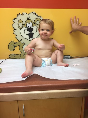 Riley's 18th Month Appointment