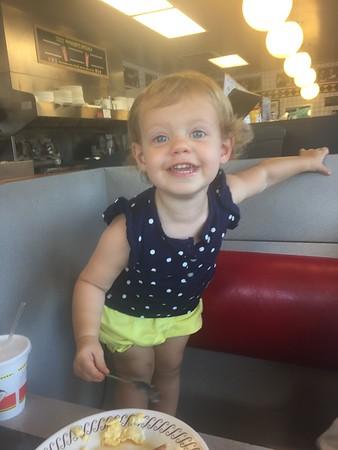 Waffle House FUN  -August 2016