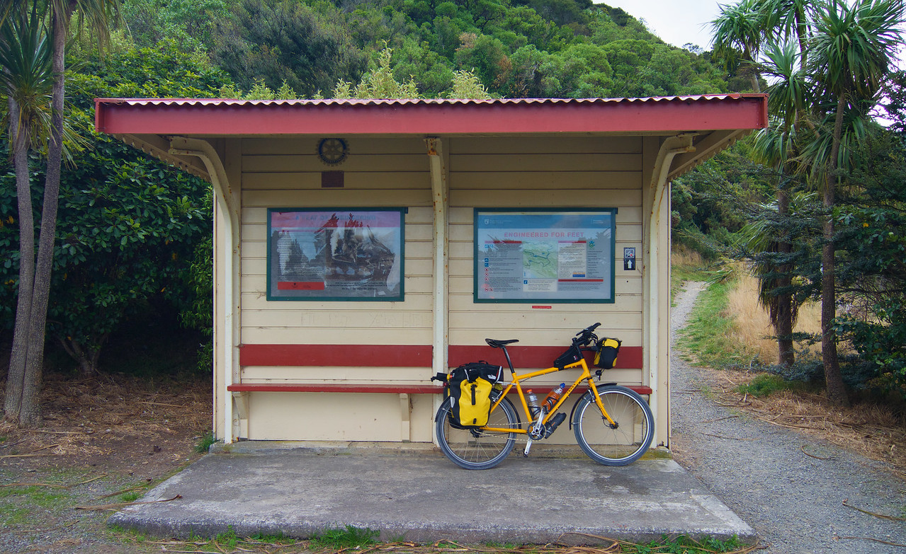 Northern Start Point of the Rimutaka Cycle Trail