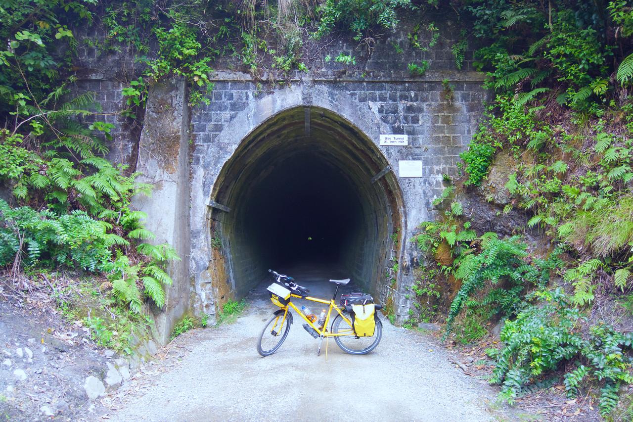 Summit Tunnel Rimutaka Cycle Trail