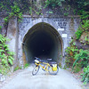 """Summit Tunnel: in use 1878 to 1955.   Length 584 m or 1916ft (didn't seem that long!) Obviously very clever and very accurate engineering as it must be dead straight for us to see the light from the far end creeping through.  Rimutaka Cycle Trail:  <a href=""""http://www.wellingtonnz.com/rimutaka-cycle-trail/riding-the-trail/"""">www.wellingtonnz.com/rimutaka-cycle-trail/riding-the-trail/</a>  Ride: <a href=""""https://www.strava.com/activities/530528770"""">www.strava.com/activities/530528770</a>"""