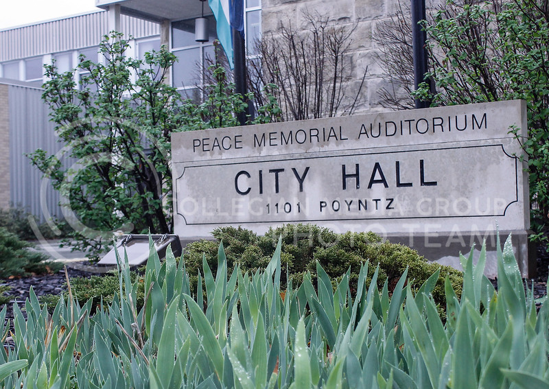 Manhattan's City Hall is located at 1101 Poyntz Ave. It houses city worker offices, Parks and Recreation and other local government departments (Kaylie McLaughlin | Collegian Media Group)