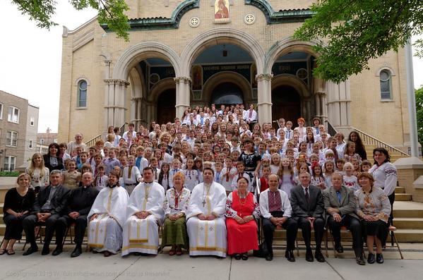 Ridna Shkola at St. Nicholas Cathedral Class of 2013