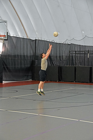 Volleyball in the Bubble 1-13-17