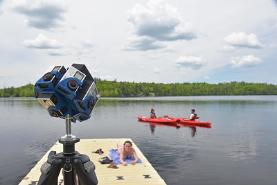 360-degree GoPro Array at Pearly Pond - 6-8-17