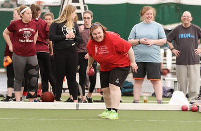 Student-Athletes Assist with Special Olympics NH Event.