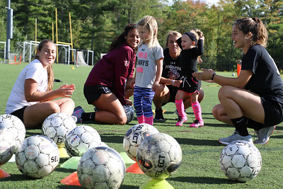 FPU Soccer holds annual soccer camp for local elementary school children.