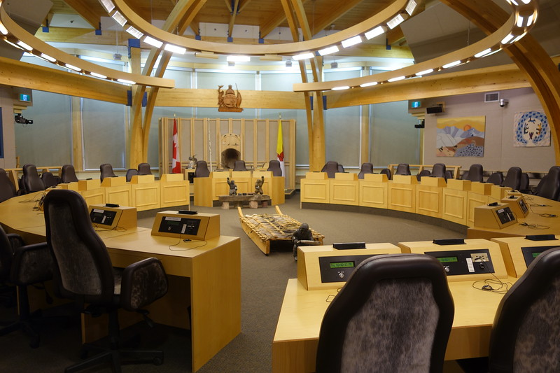 Nunavut Legislative Assembly Room