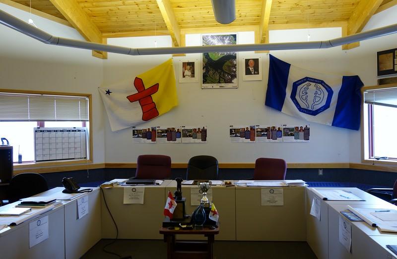 Pond Inlet Hamlet Office Meeting Room