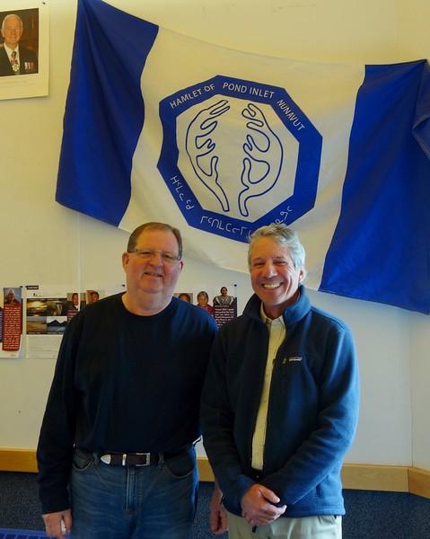 Daryl Dibblee, Senior Administrative Officer for Hamlet of Pond Inlet