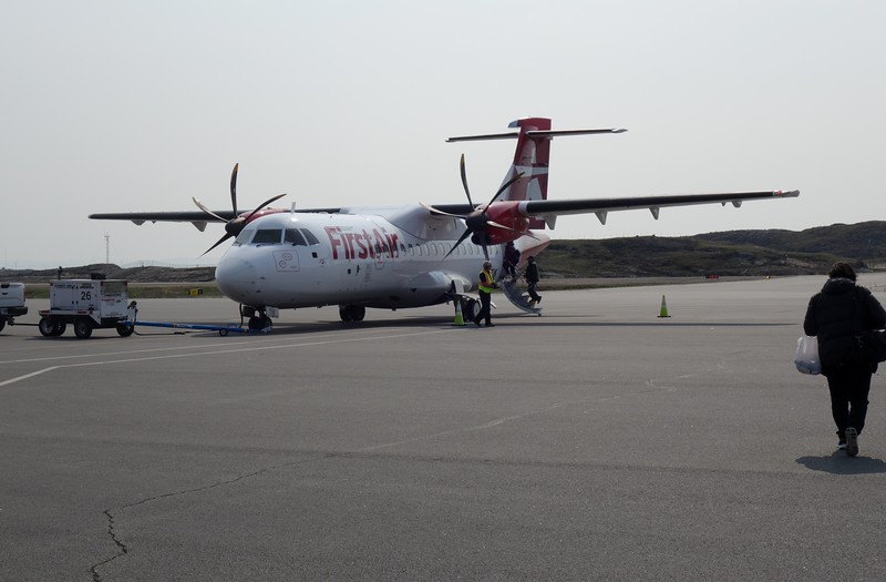 ATR-500 Turboprop Plane