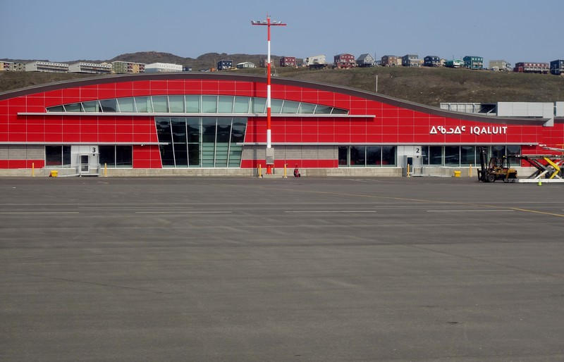 The New Iqaluit Air Terminal