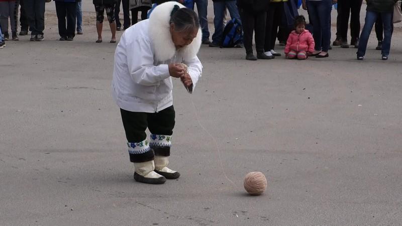 Nunavut Day - Yarn Ball Game