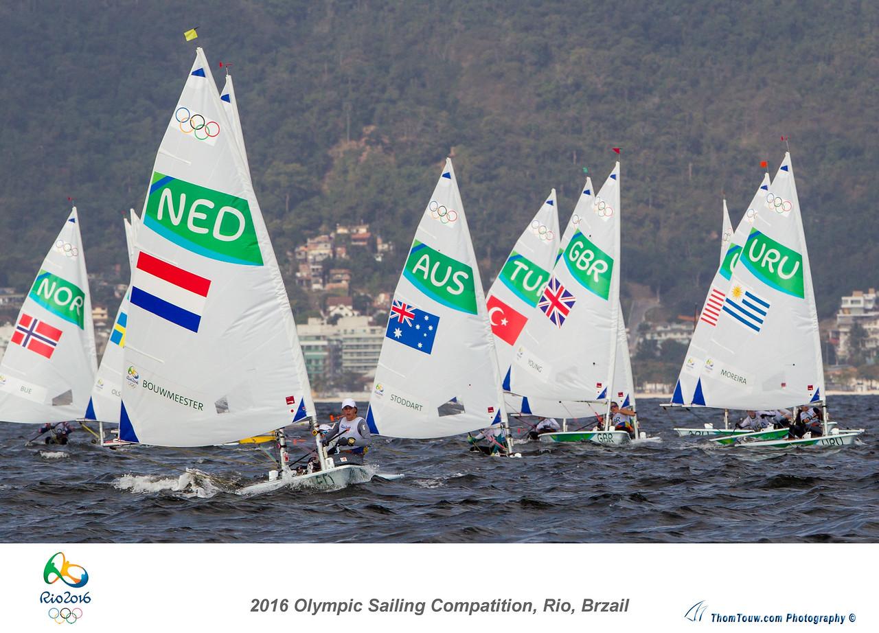 2016 Olympic Sailing Games, Rio, Brazil