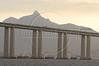The 13 km Niteroi Bridge over the Guanabara Bay connects Rio de Janeiro to Niteroi and was inaugurated in 1974.(Australfoto/Douglas Engle)