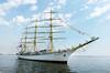 """Russian sailboat """"Nadezhda"""""""