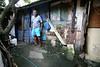 Euclides Santana da Silva in front of the house he built in the 1940s in the Vila Alice slum in Rio de Janeiro, Brazil, Oct. 26, 2005.(Foto/Douglas Engle/Australfoto)