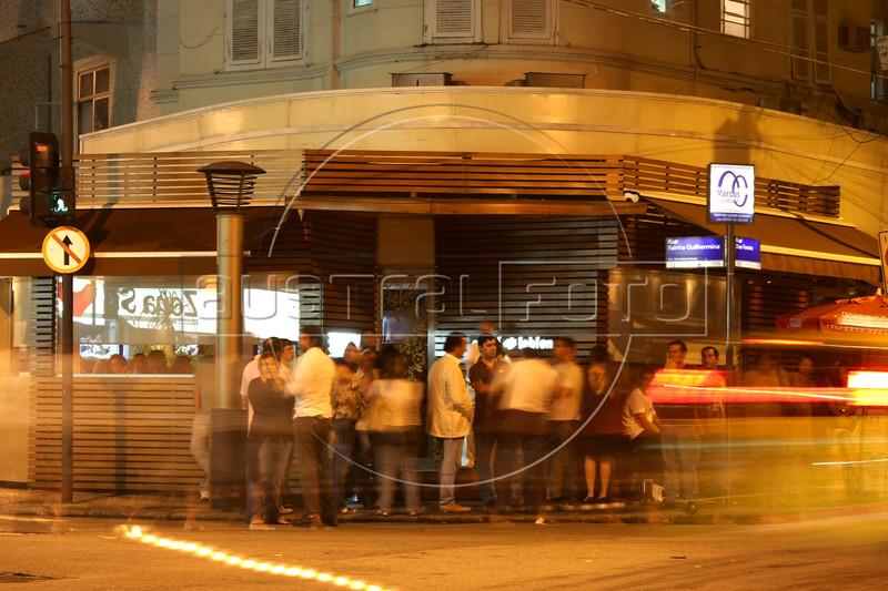 The Suchi Leblon restaurant, in the Leblon district of Rio de Janeiro, Brazil. (Australfoto/Douglas Engle)