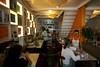Clients at the Vegetarian restaurant in the Leblon district of Rio de Janeiro, Brazil. (Australfoto/Douglas Engle)