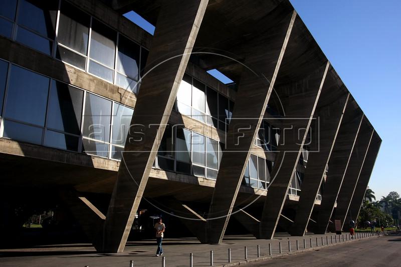 A view of the Modern Art Museum in Rio de Janeiro.(Australfoto/Douglas Engle)