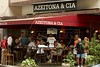 Clients at the Azeitona e Cia restaurant in the Leblon district of Rio de Janeiro, Brazil. (Australfoto/Douglas Engle)