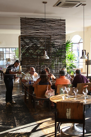 The Tereze restaurant in the Santa Tereza district of Rio de Janeiro, Brazil. (Australfoto/Douglas Engle)
