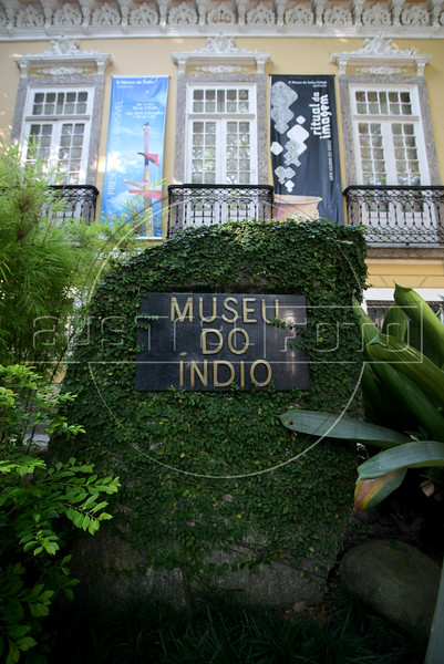 The Museu do Indio in the Botafogo district of Rio de Janeiro, Brazil. (Australfoto/Douglas Engle)