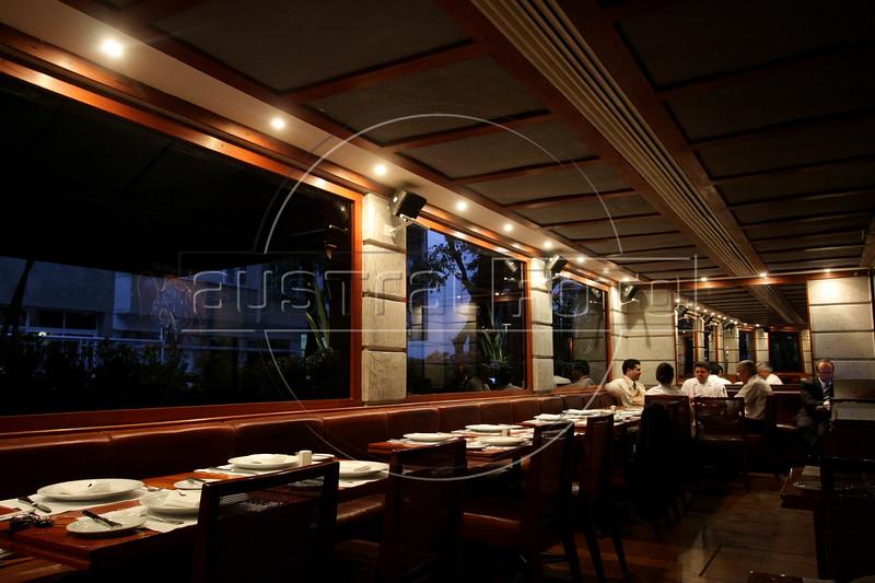 A view of the Grill Esplanada restaurant in the Ipanema district of Rio de Janeiro, Brazil. (Australfoto/Douglas Engle)
