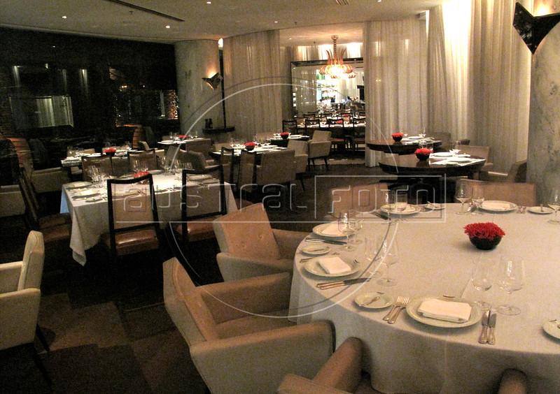 The Fasano al Mare restaurant, in the Fasano Hotel in the Ipanema district of Rio de Janeiro(Australfoto/Douglas Engle)
