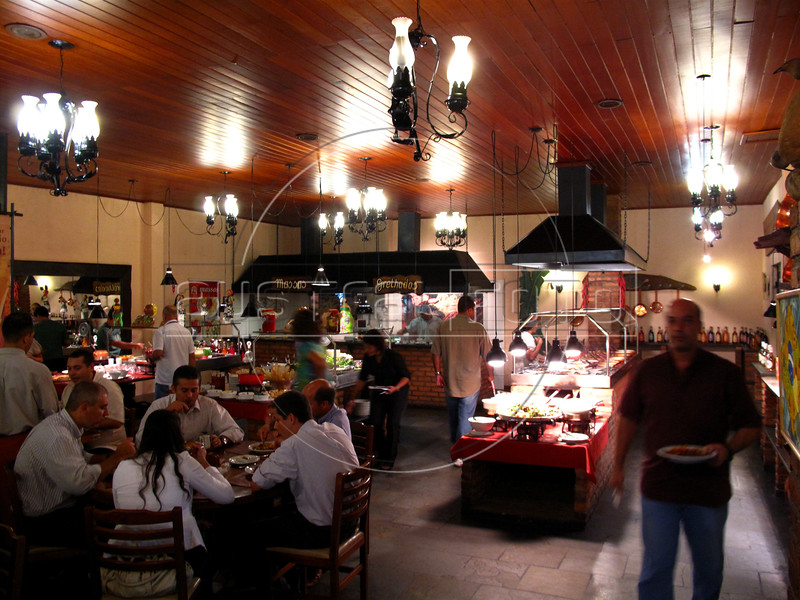 "The ""A Mineira"" restaurant in the Humaita district of Rio de Janeiro, Brazil. (Australfoto/Douglas Engle)"