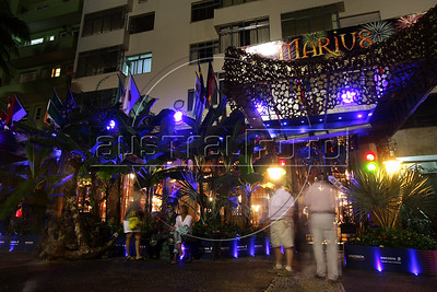 The Marius restaurant, in the Leme district of Rio de Janeiro, Brazil. (Australfoto/Douglas Engle)