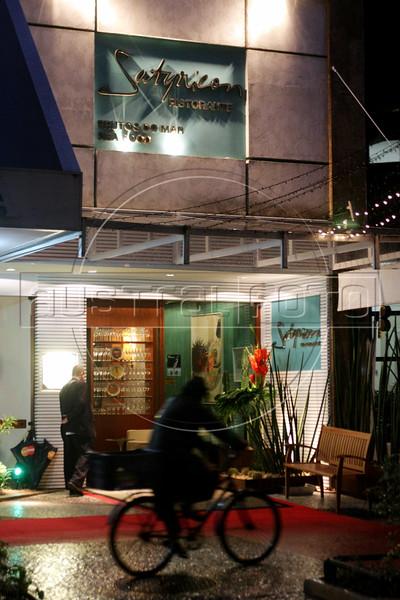 A view of the Satyricon restaurant in the Ipanema district of Rio de Janeiro, Brazil. (Australfoto/Douglas Engle)