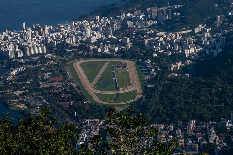 A view of Jockey club, Rio de Janeiro, Brazil
