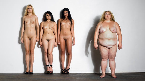 Body issue nude fine art NYC photography by Aaron Paul Rogers.