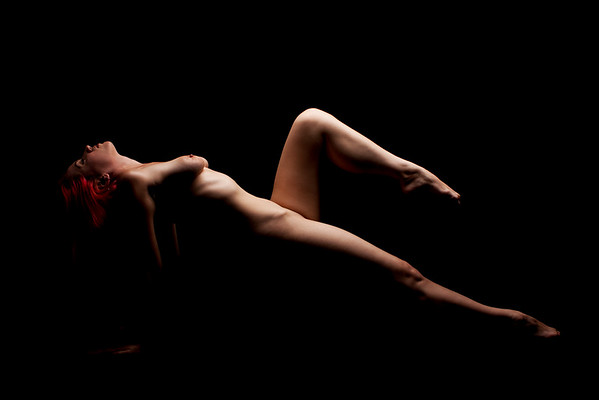 Yoga Nude fine art NYC photography by Aaron Paul Rogers.