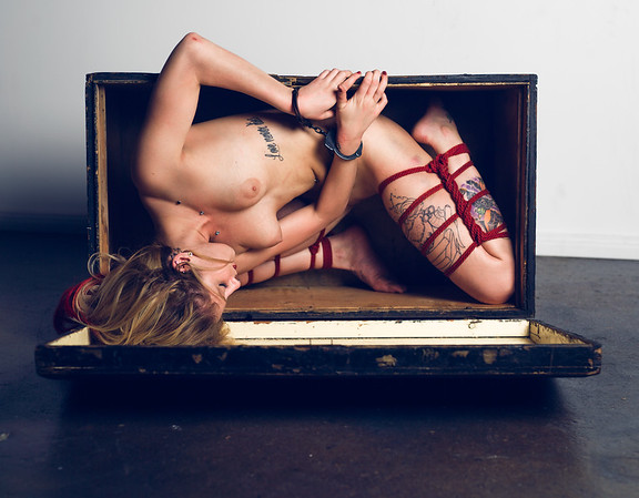 Nude fine art NYC photography by Aaron Paul Rogers.  Alt Model.