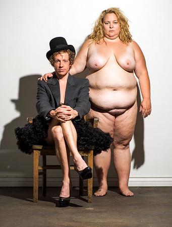 Nude couple fine art.