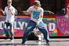 B-boy hollywood boulevard street performer