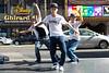 Japan break dancers in Hollywood