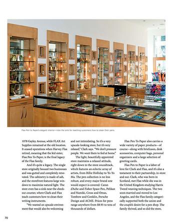 Pen world Magazine riot mob, aaron paul rogers, fine art photography, los angels, ca, riotmob.com