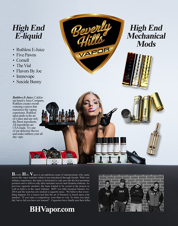 Vape News Magazine , Beverly Hill vapor, e juice, mod,riot mob, Aaron Paul Rogers, fine art photography, los angels, ca, riotmob.com,