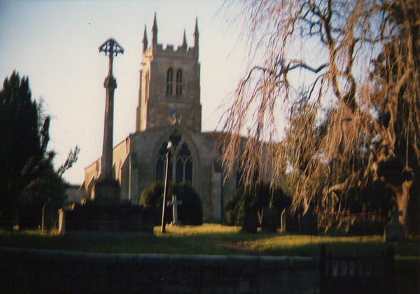 St. Andrews Church This photo was taken with my Mums old Brownie Box Camera Circa 1982